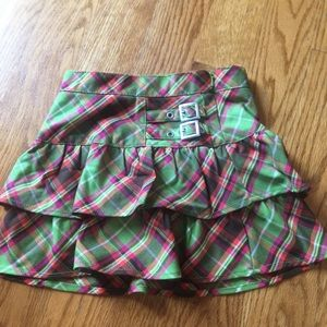 Like new skirt with built in shorts size 6